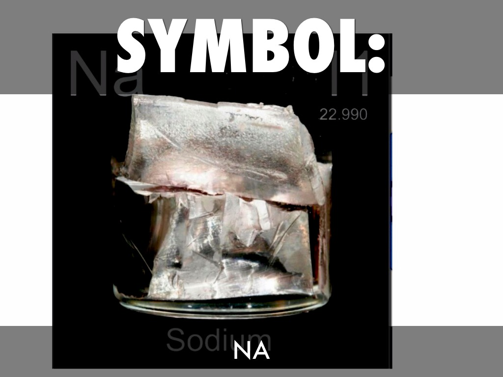 what is the element sodium used for