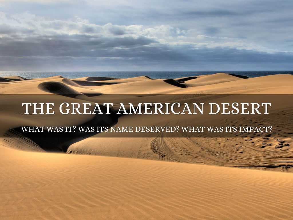 the great american dessert