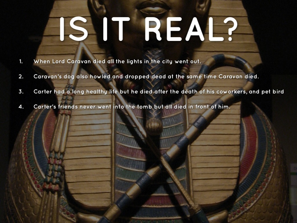 Is King Tut's Curse Real? by Will Wright