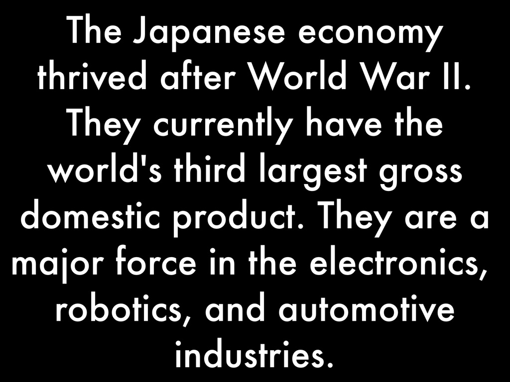 japan economy after world war 2