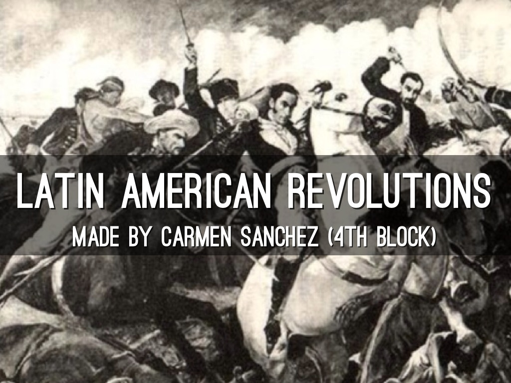 latin american and american revolution ccot Independence in latin america, 1800-1830 causes of latin american revolutions in latin america, the weaker constitutional tradition, less protection of property rights, lower literacy levels, and less developed communications systems.