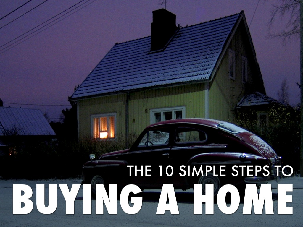 How to buy a home in 10 simple steps