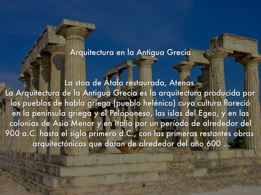 Grecia for Arquitectura de grecia