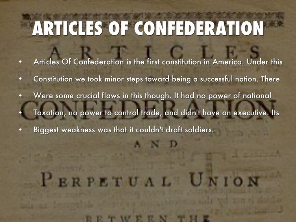 Articles of confederation by michael irons publicscrutiny Choice Image