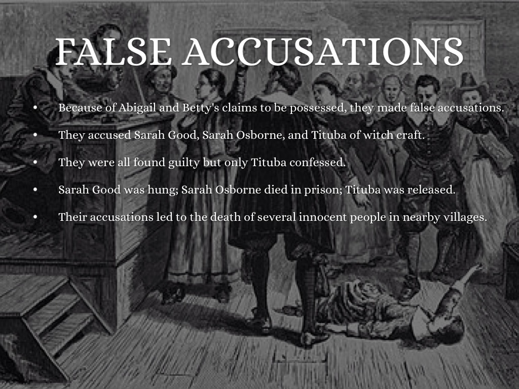a history of abagail williams and salem witch trials