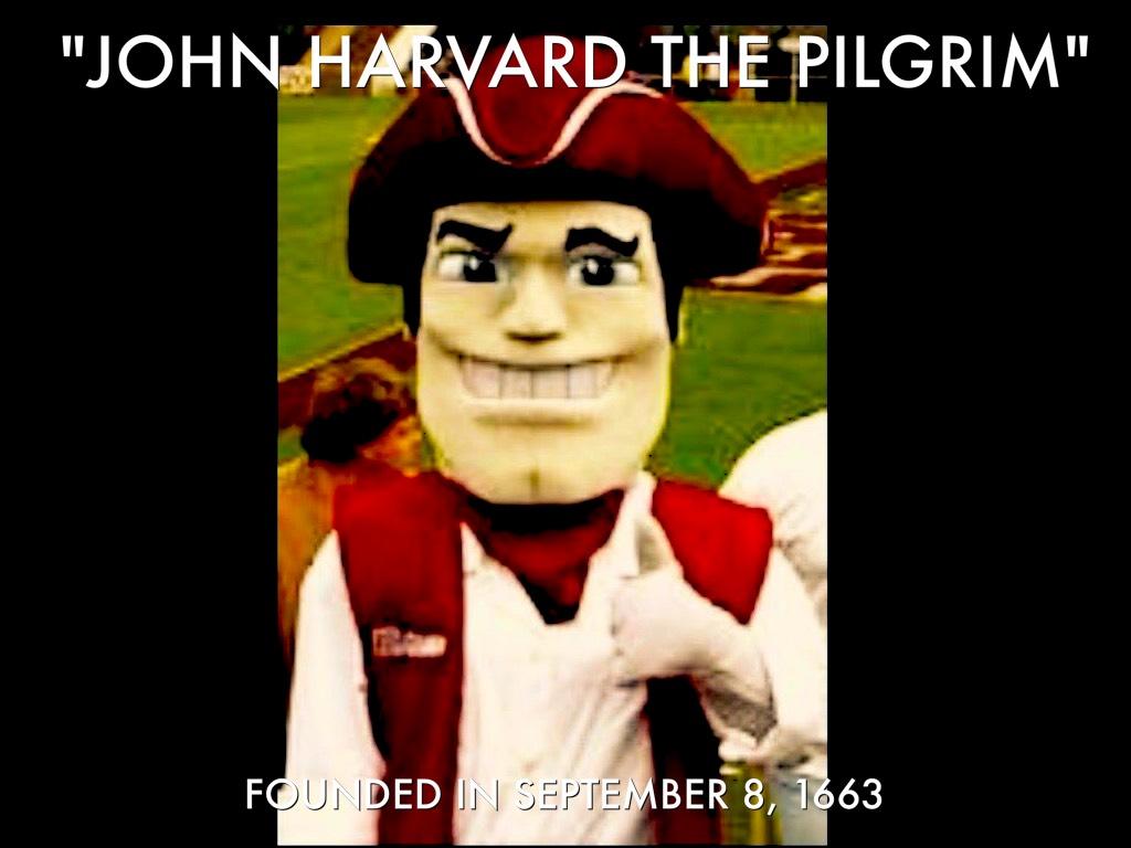 Harvard Mascot
