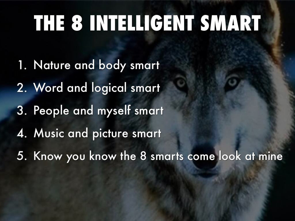 The 8 Smarts By. Ava Wells