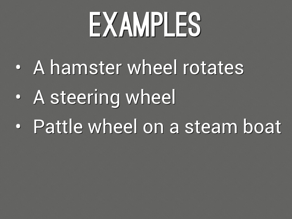 Examples Of Wheel And Axle simple machinesjoannapunay
