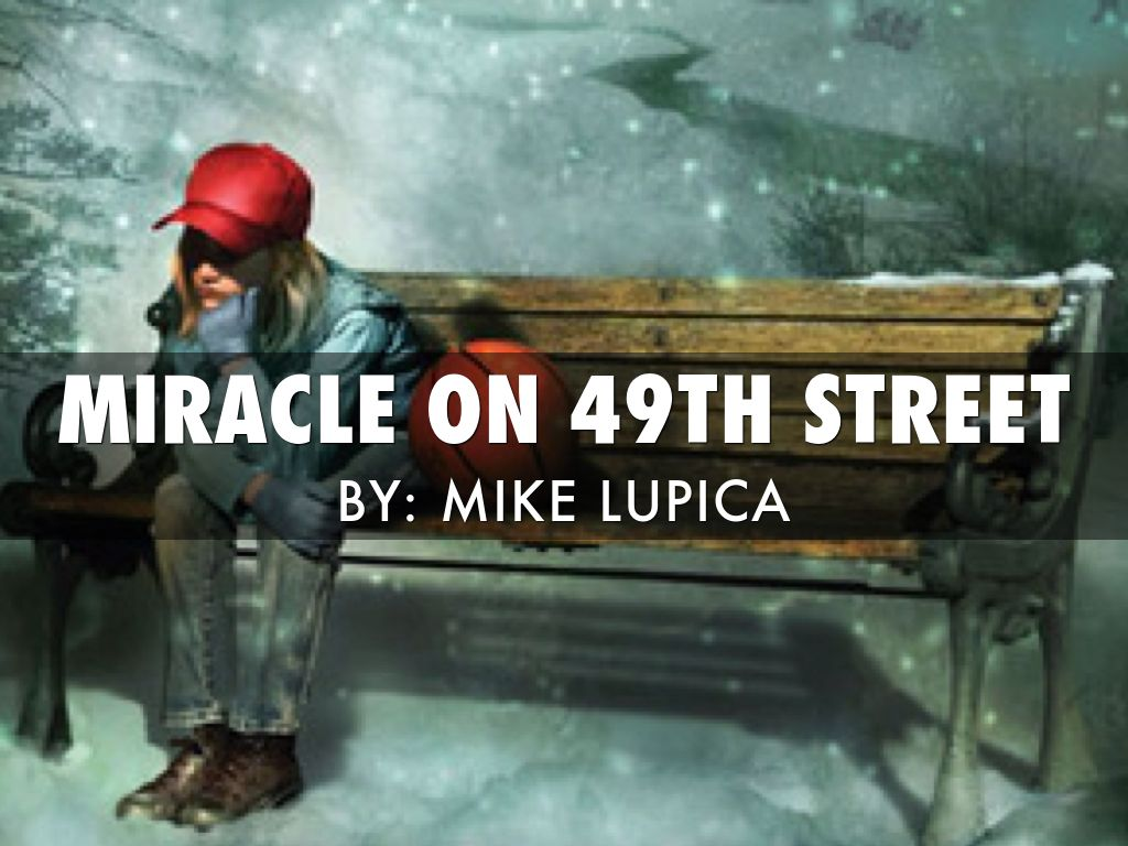 Miracle On 49th St By Jeameril Wilson border=