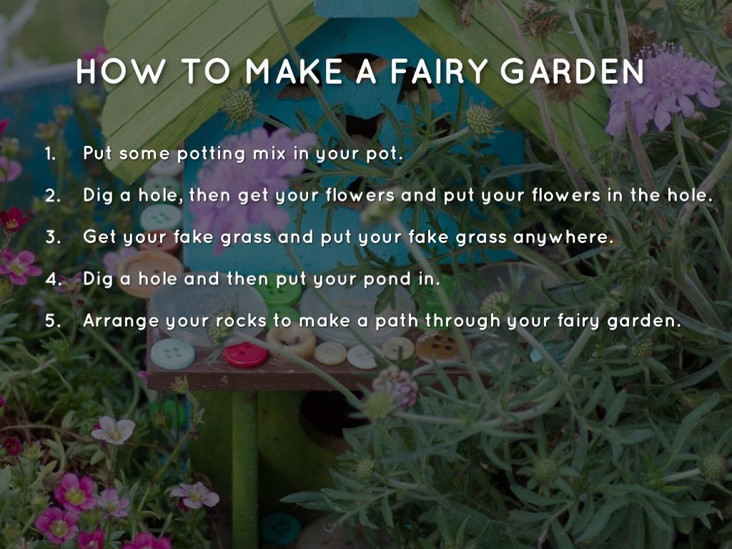 How to make a fairy garden by simone for How to create a garden