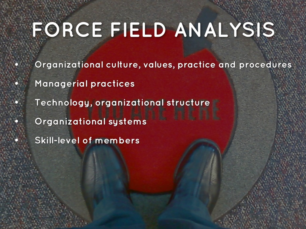 the force field analysis