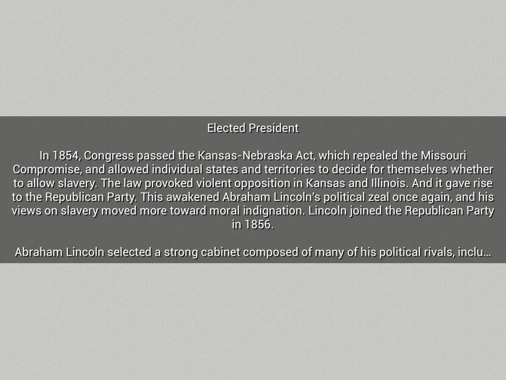 Lincoln's Biography