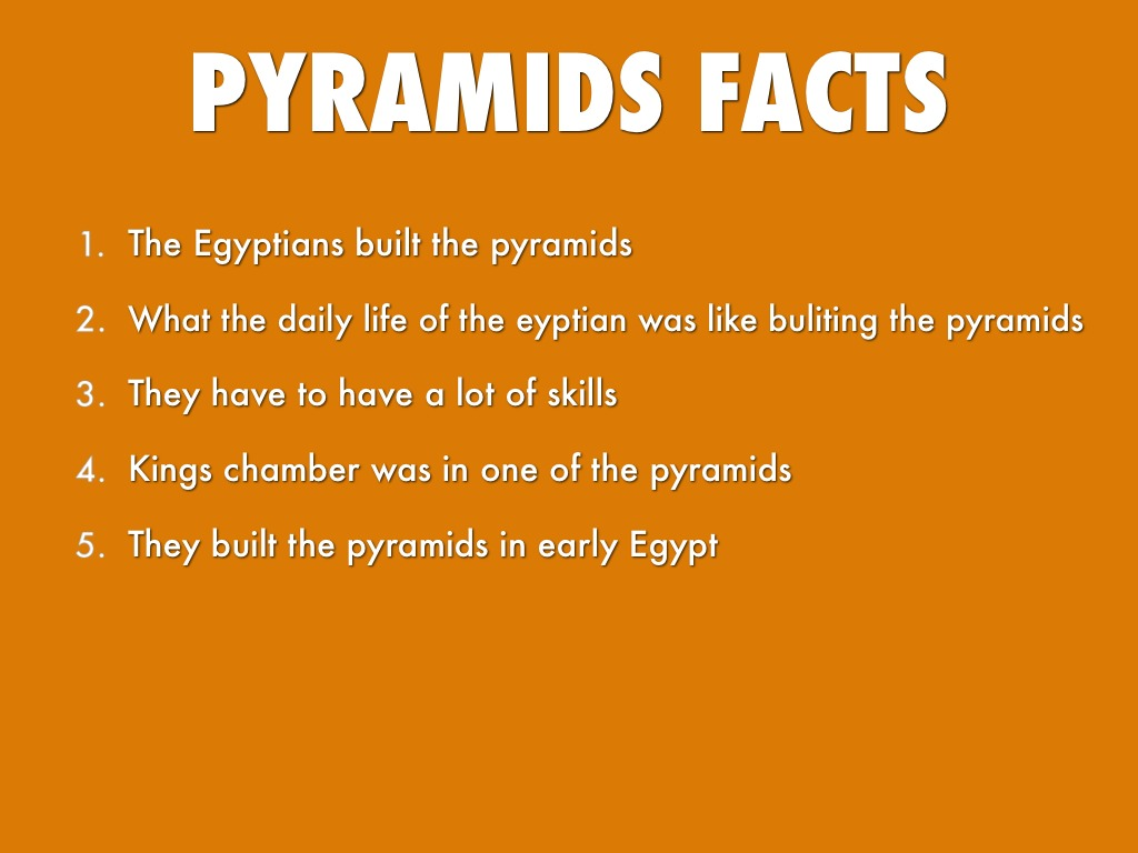what are pyramids and how were they build The building of a pyramid was a massive undertaking, employing thousands of workers for 20 years or more we do not know for sure exactly how the pyramids.