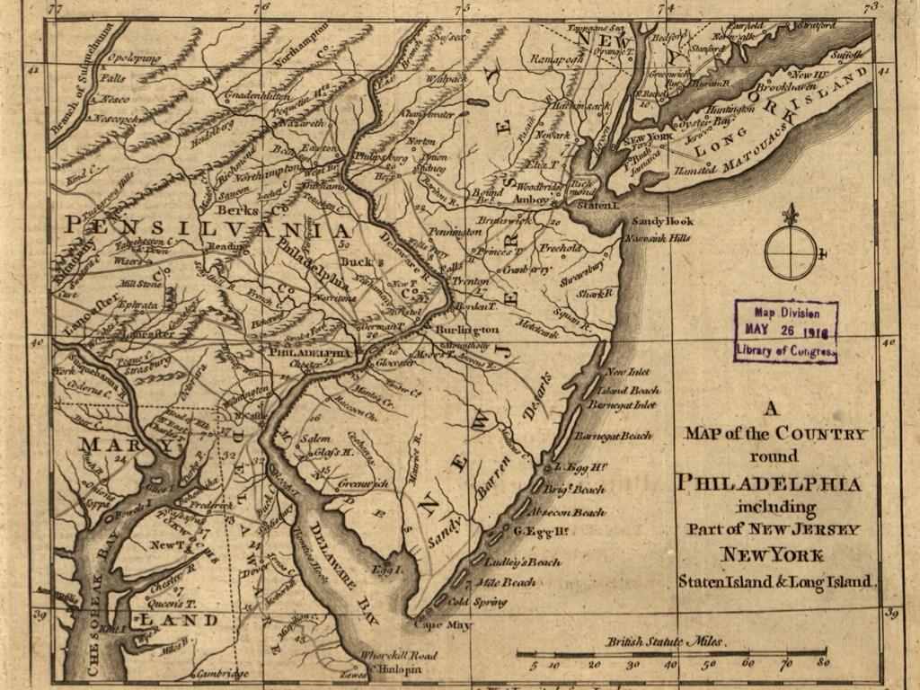 New Jersey Colony By Mlashbrook