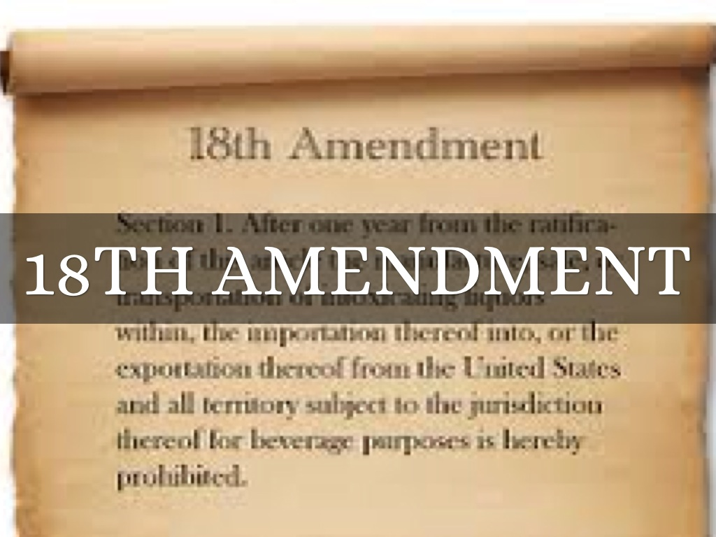 wilson veto the 18th amendment Watch video herstory: the women behind the 19th amendment on  to vote during the presidency of woodrow wilson  writings of 18th century women's rights.