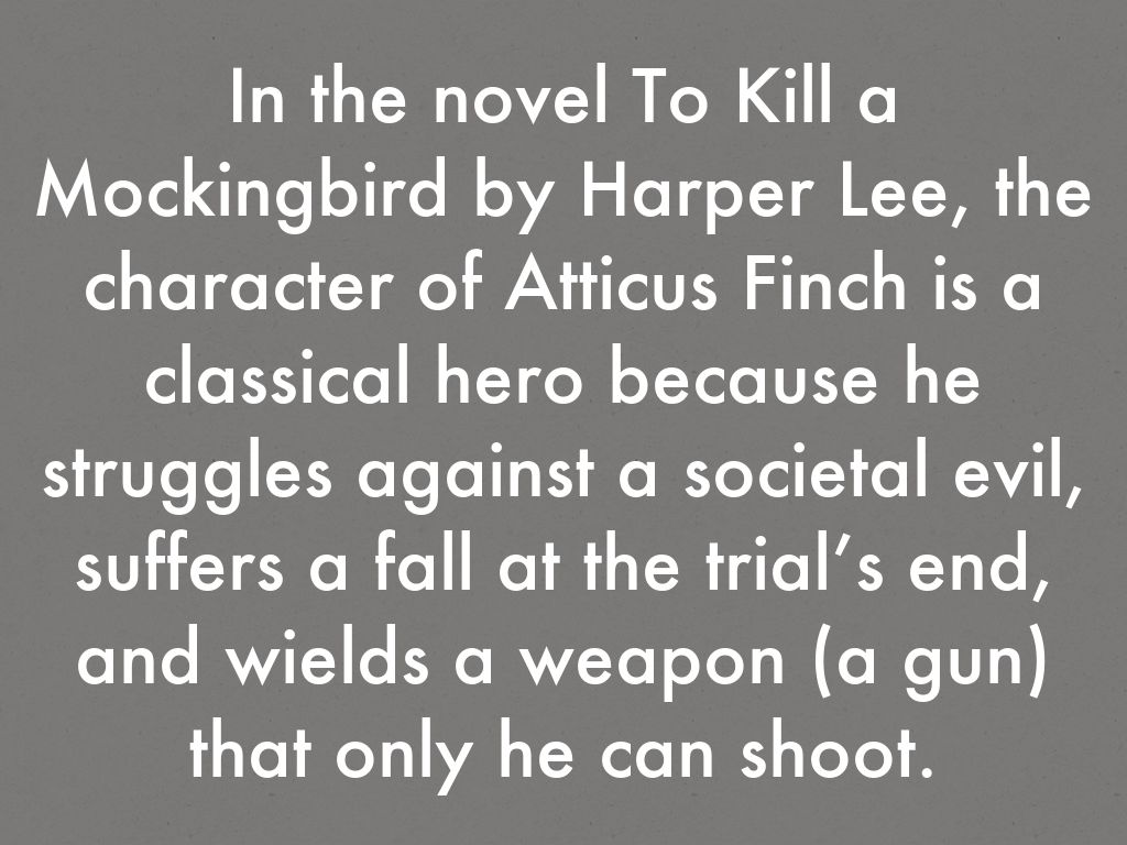 the character of atticus finch essay