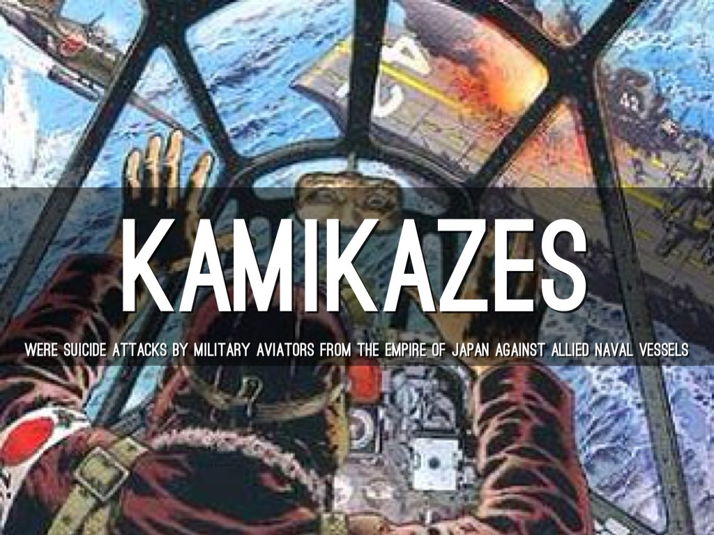 kamikaze empire of japan and allied