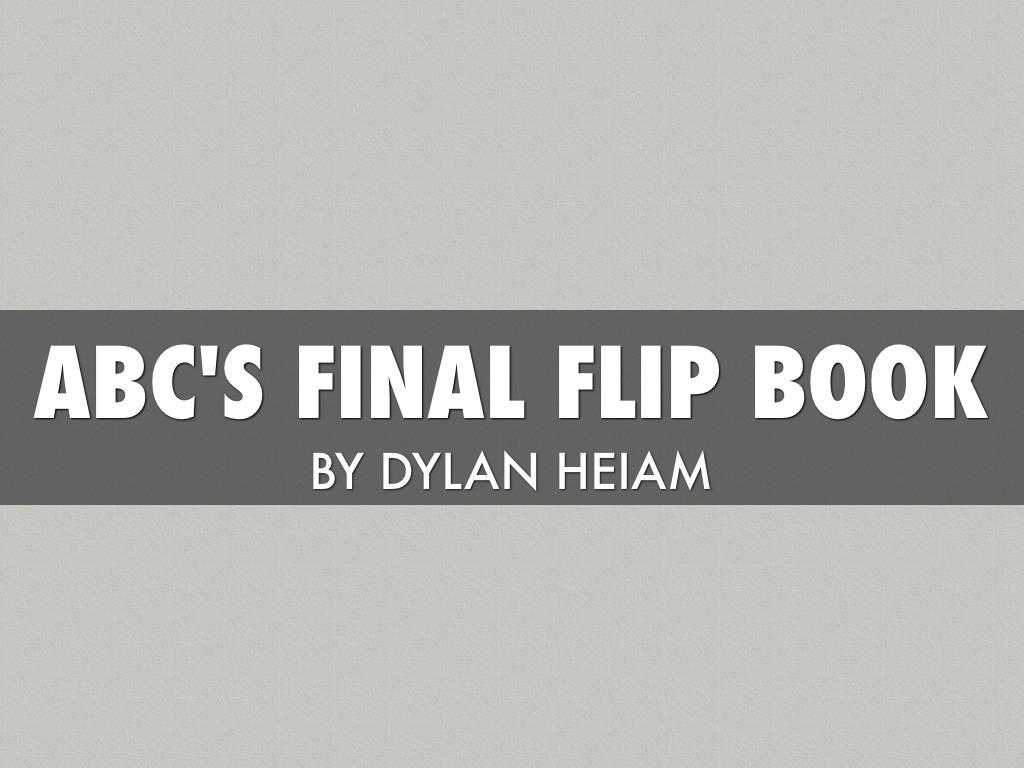 ABC's Flip Book
