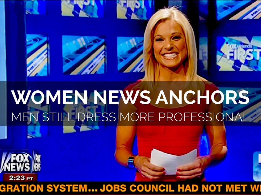 women as news anchors