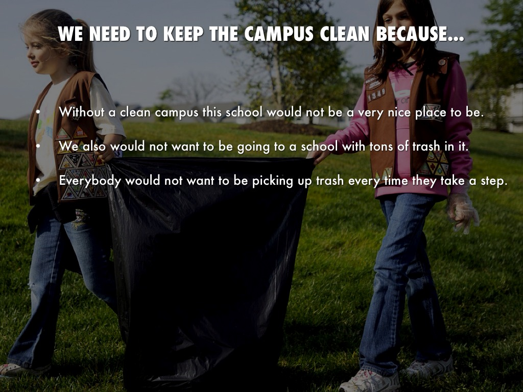 keep your campus clean Find out how going green at school could improve your everyday life  cleaning  up the environment is certainly one of the long-term goals of sustainability,   who are working to build and maintain sustainability programs on their campuses.