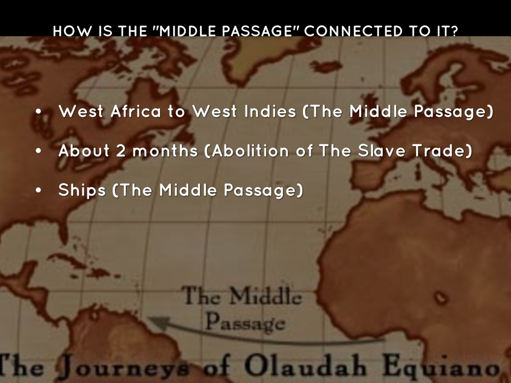 The destruction of the indies and the middle passage essay