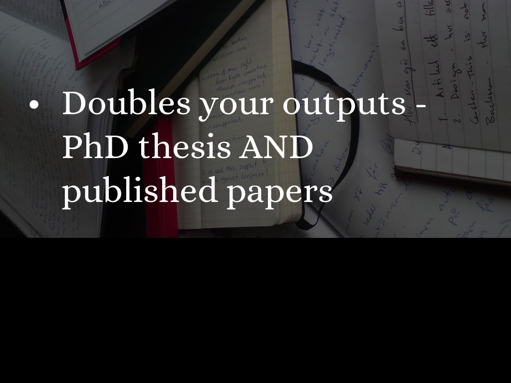 E learning thesis phd