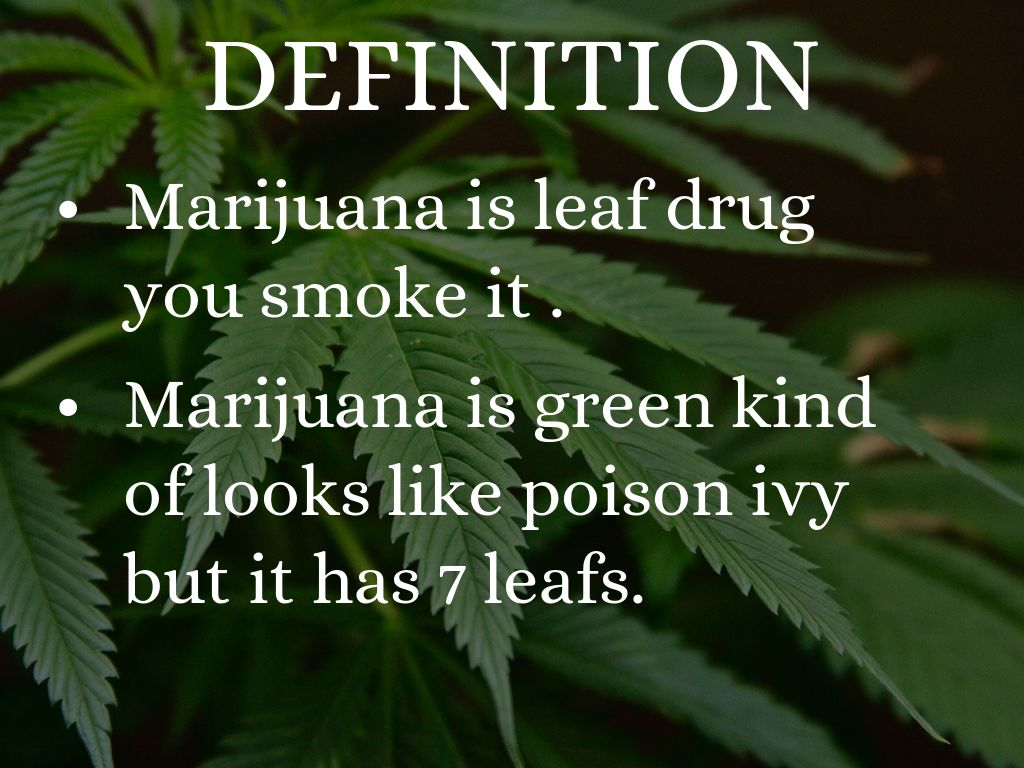 marijuana by carlos montellano