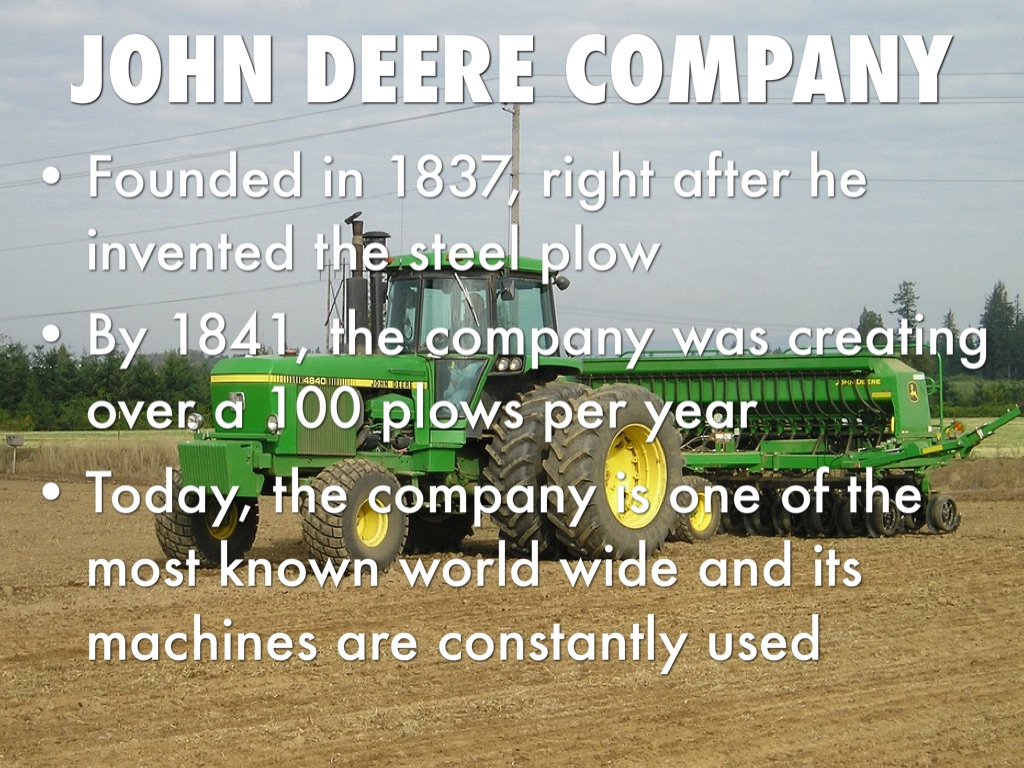 John Deere Invention By Alecsander Da Silva