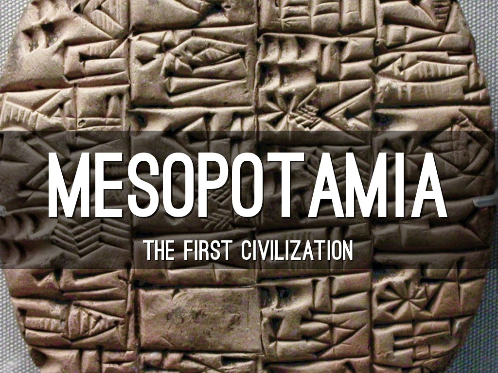 Mesopotamian Inventions by Aziya Cureton