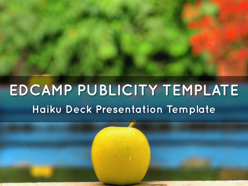 EdCamp Publicity