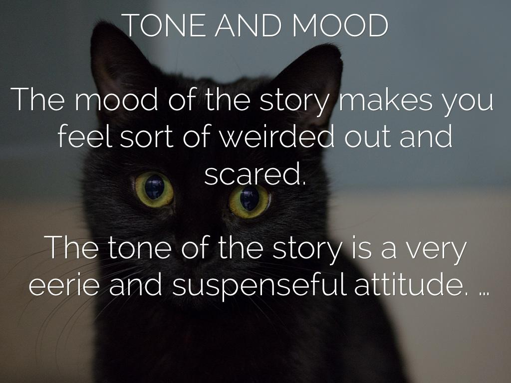 mood of the black cat