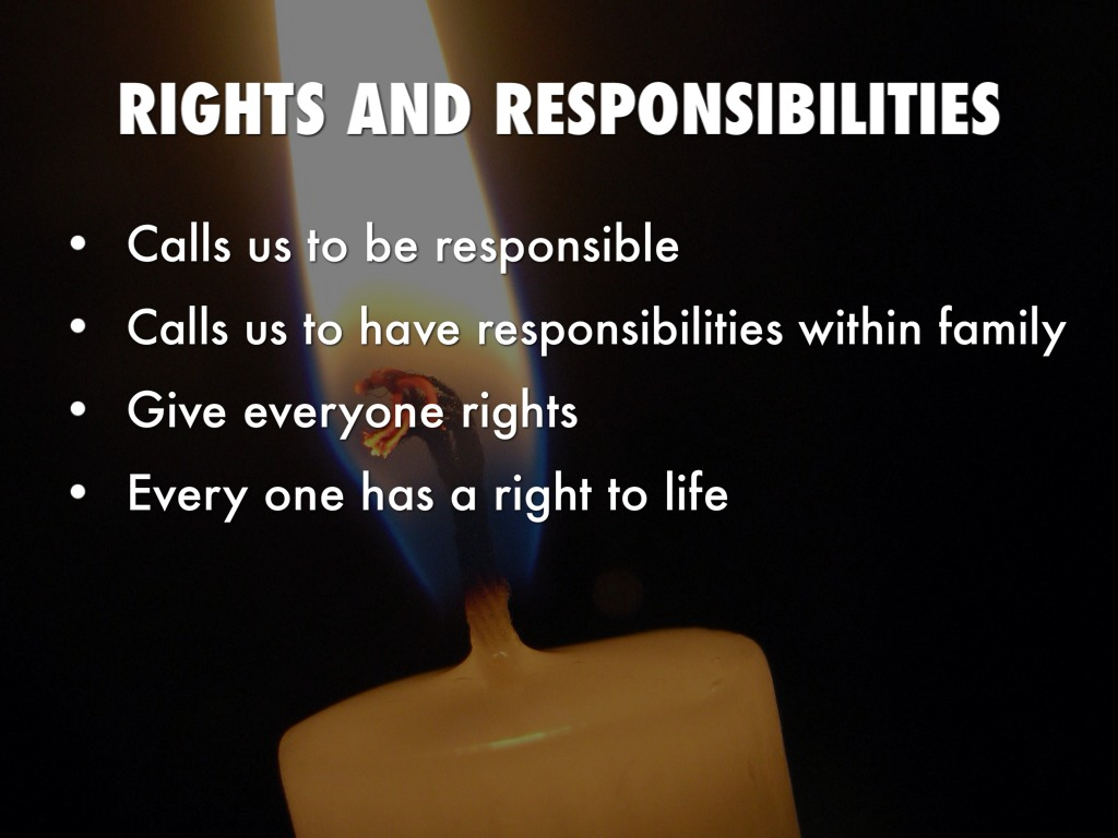 Rights And Responsibilities Catholic Social Teaching - Lawteched