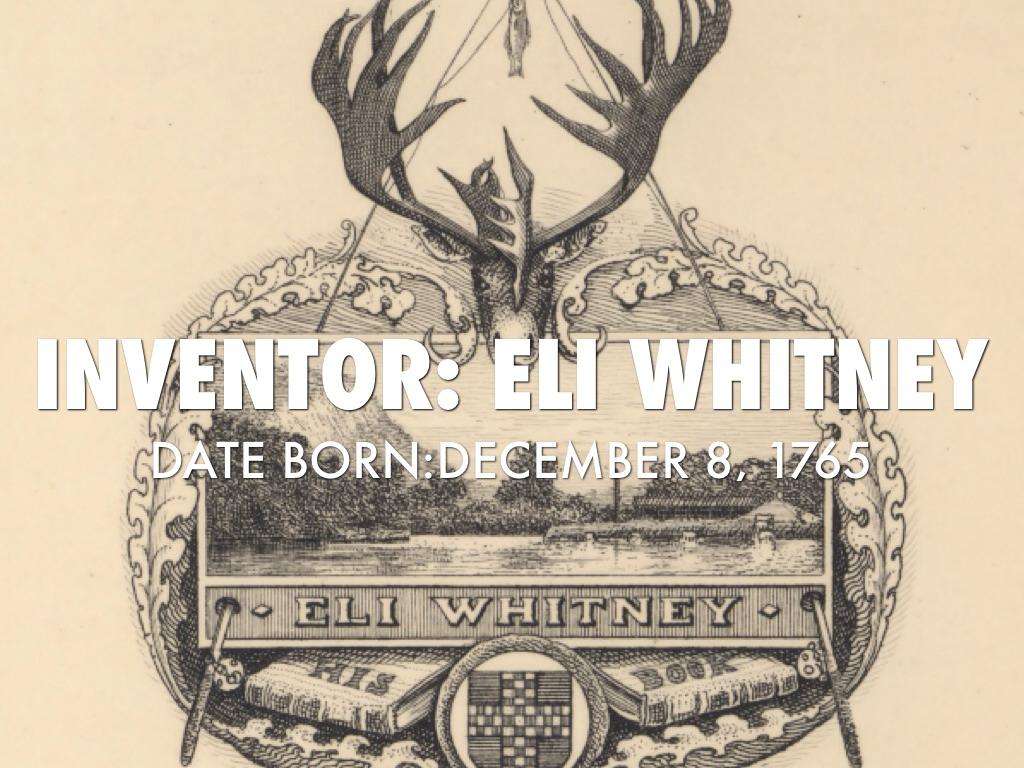 Eli Whitney by sancar4931