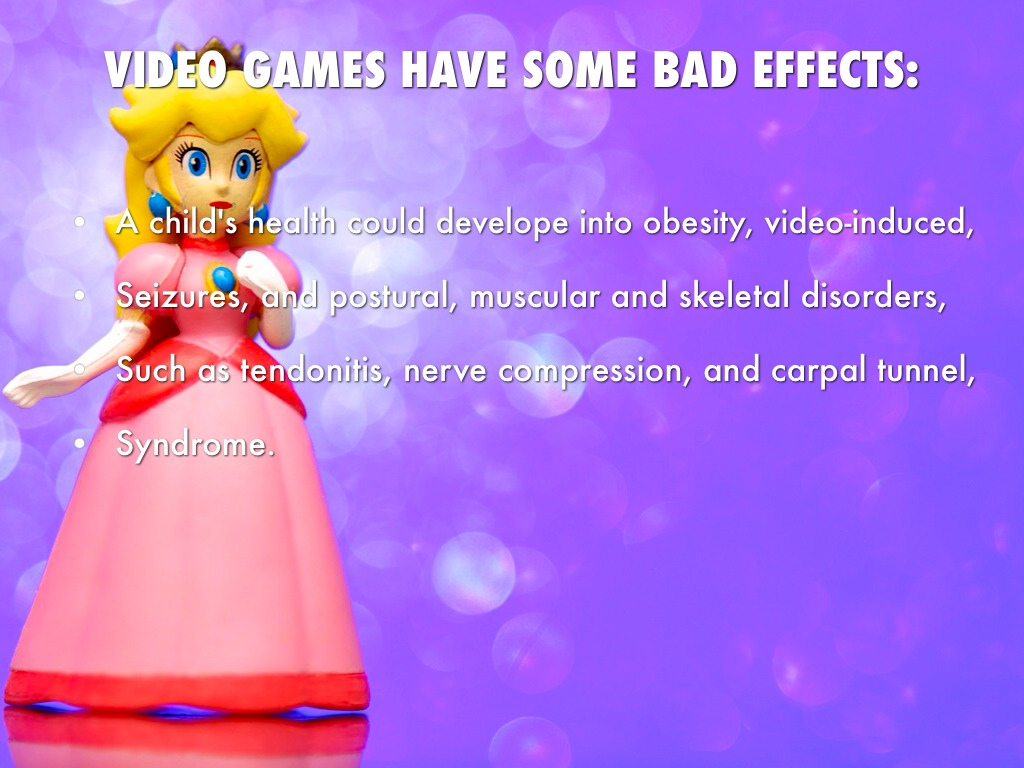 essay video games bad children