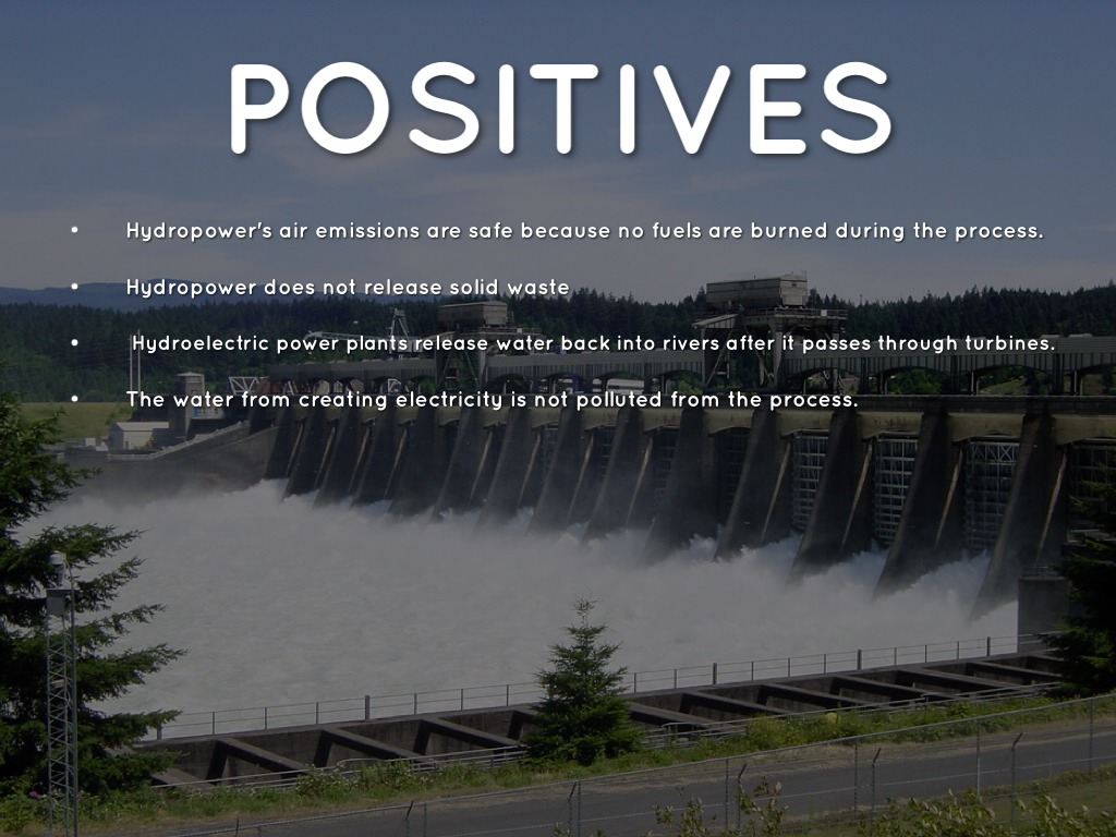 Hydroelectric Energy Negatives Great Installation Of Wiring Diagram Power By Emeline Rh Haikudeck Com Biomass Advantages