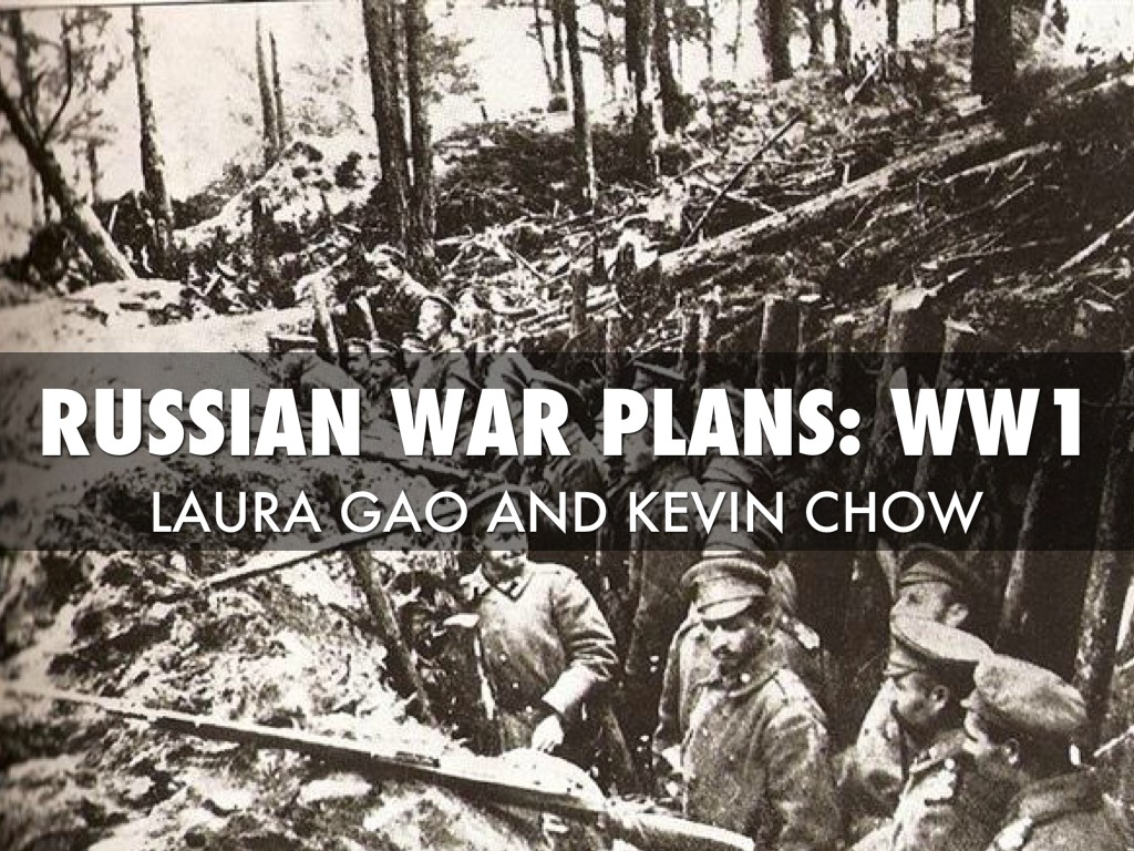 Russia War Plans In WW1 by Laura Gao