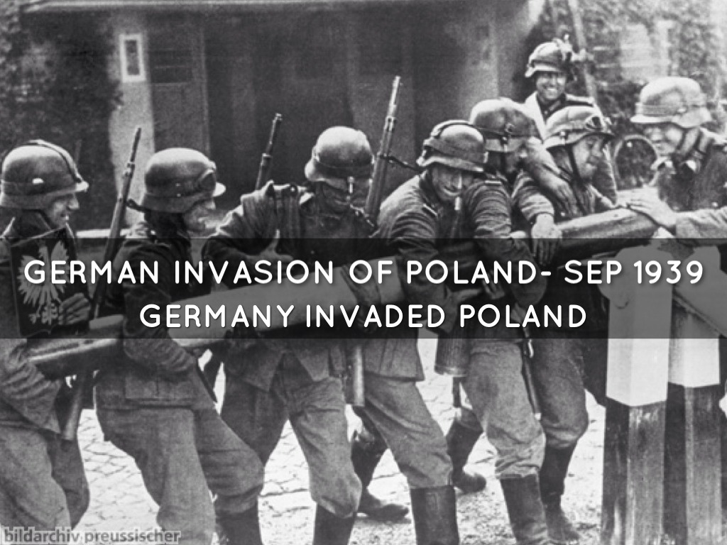 remembering germanys invasion of poland in 1939 The polish september campaign 1939 planning simulated invasions from the germany (plan n) or from soviet invasion (plan r (invasion of poland).