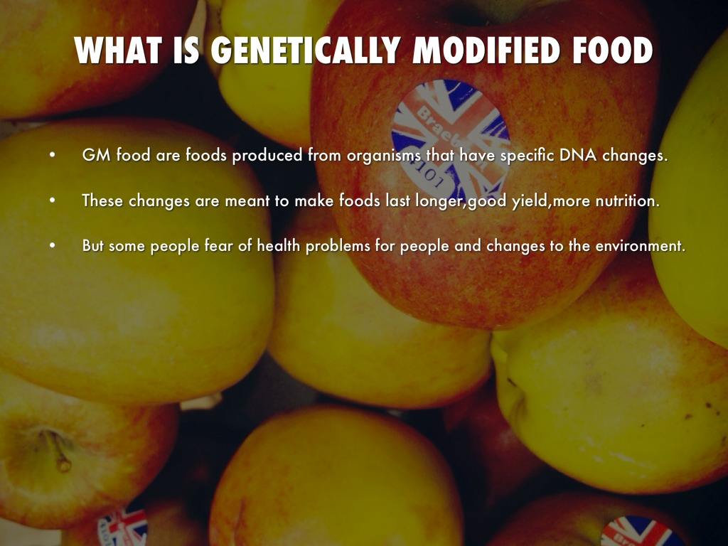 an argument in favor of producing genetically modified food One of my class assignments was to argue in a paper against genetically modified arguments against gmos  food uses the third large-scale argument.