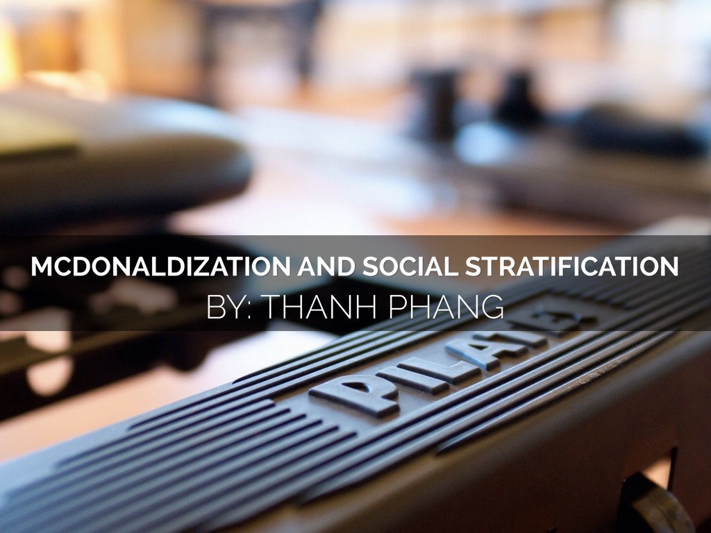 social stratification and education pdf