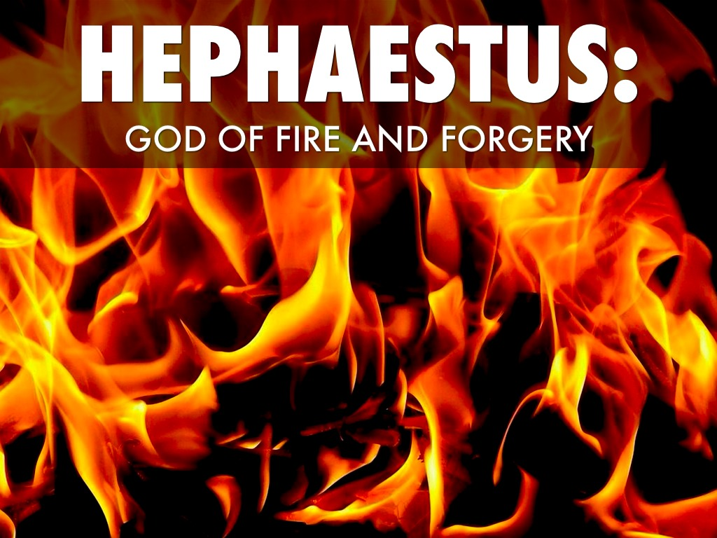 Hephaestus God Of Fire And Forge Hephaestus by Nick Sza...