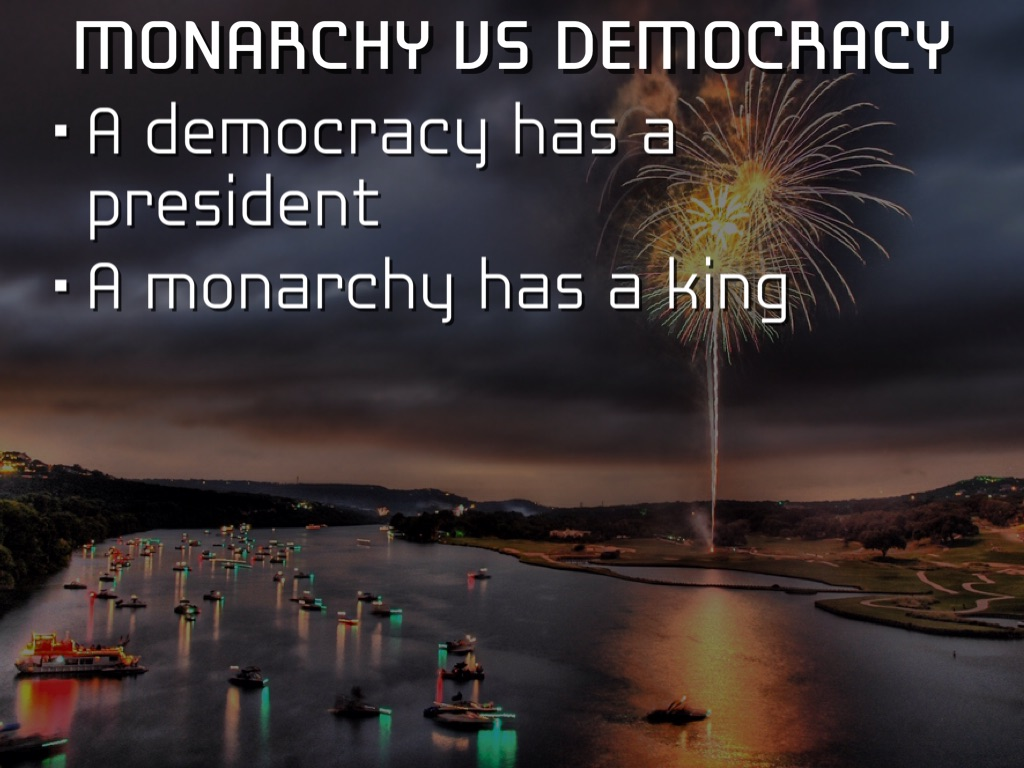 democracy vs monarchy Free essay sample on the given topic monarchy vs democracy written by academic experts with 10 years of experience use our samples but remember about plagiarism.