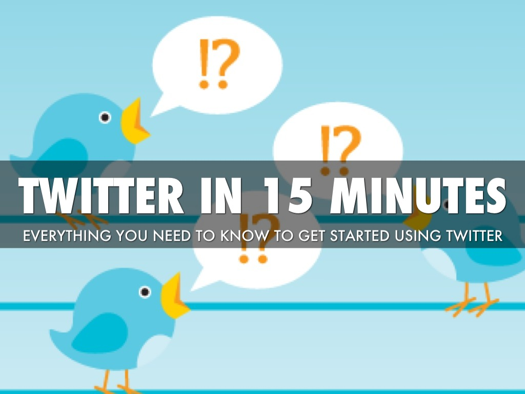 twitter in 15 minutes by mark riley