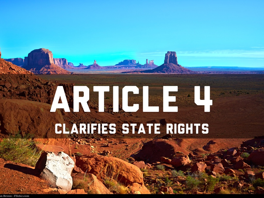 article 4 of constitution