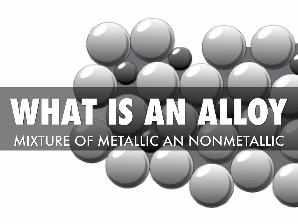 what is an alloy