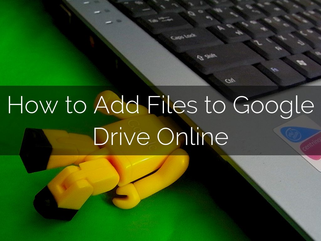 how to add a pdf on a google drive file