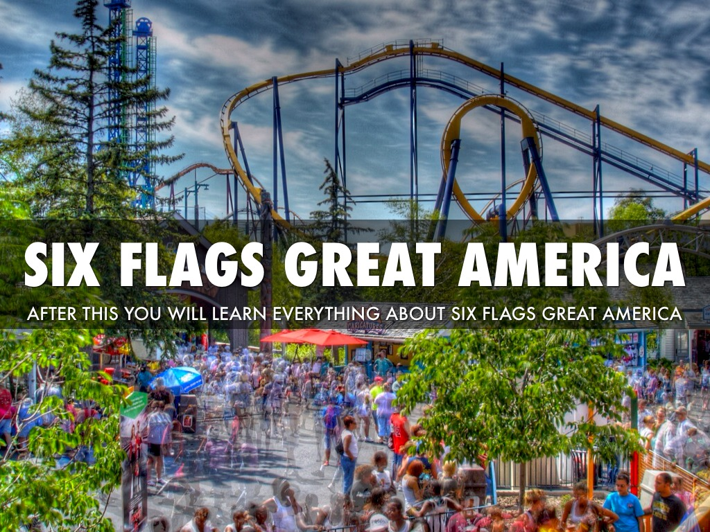 Six Flags Great America by Devin Braden
