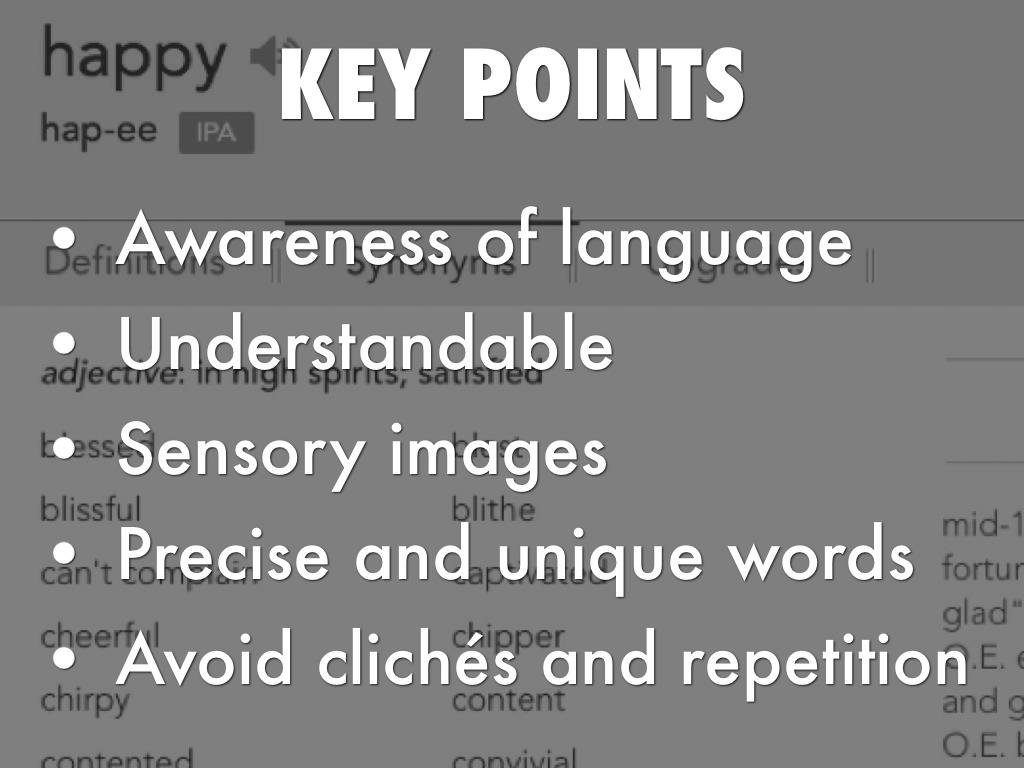 awareness of sensory loss section b