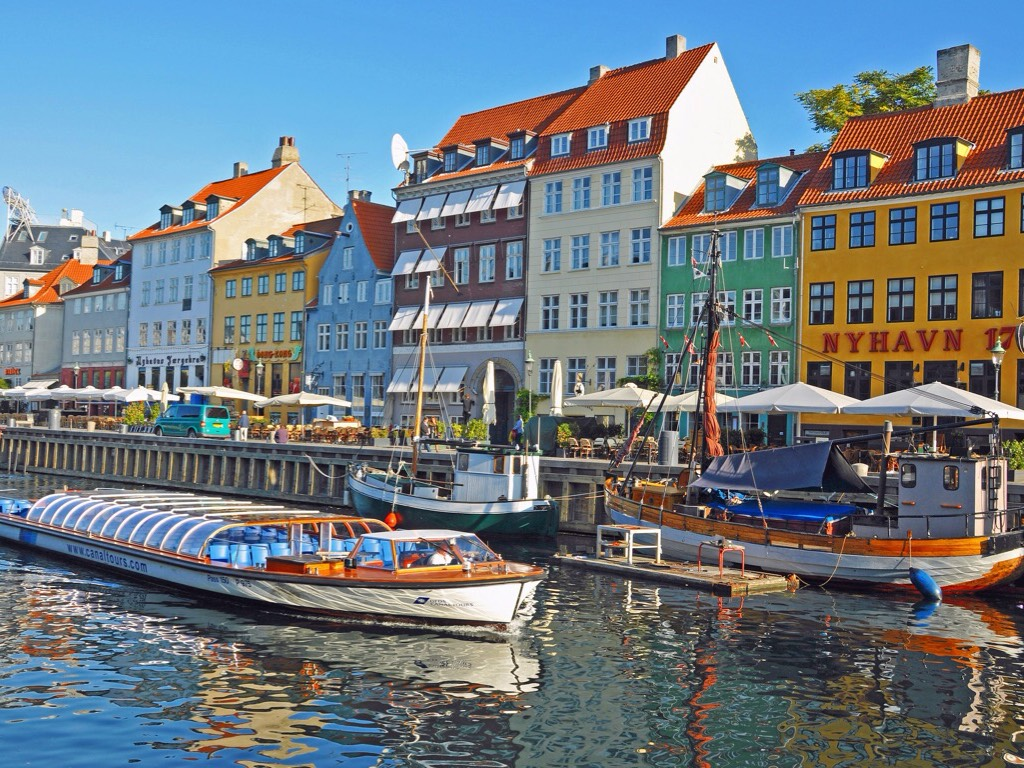 Copenhagen Harbor, Denmark без смс