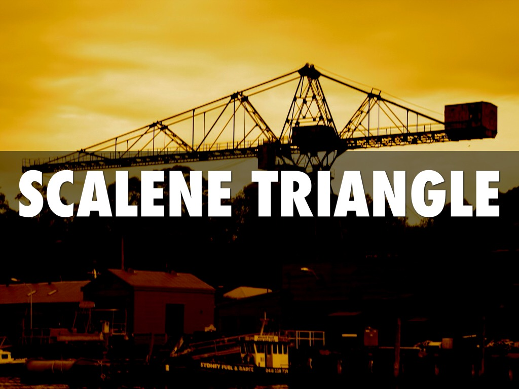 Scalene Triangle Outline Triangles by pn...