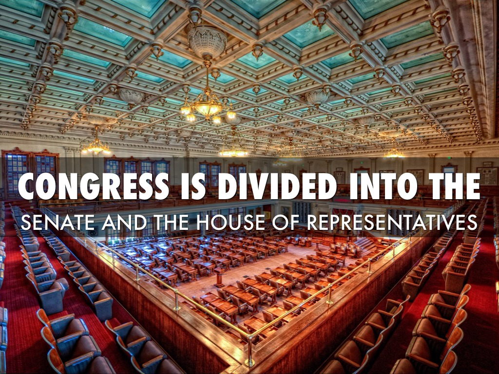 the united states congress the senate and the house of representatives Section 1all legislative powers herein granted shall be vested in a congress of the united states, which shall consist of a senate and house of representativessection 2the house of representatives shall be composed of members chosen every second year by the people of the several states, and the electors in each state shall have the.